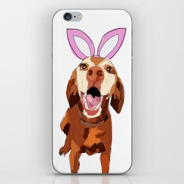 Happy Easter Vizsla Bunny iPhone Skin