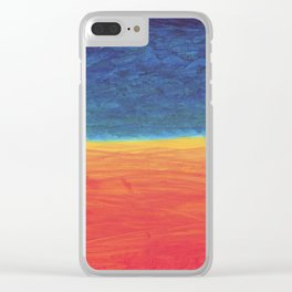 Field and Sky Clear iPhone Case