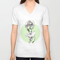 gore V-neck T-shirts featuring Gore burst by Coyote inc