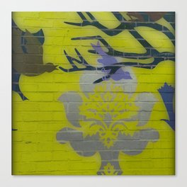 Wall Art Remix Yelllow Canvas Print