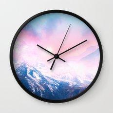 Pastel vibes 27 Wall Clock