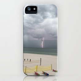 Storm St Pete Beach iPhone Case