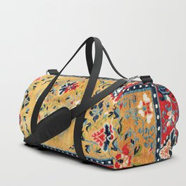 Shigatse Khaden South Tibetan Rug Print Duffle Bag