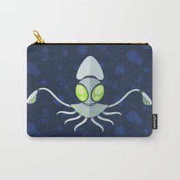 Robot Squid Pattern Carry-All Pouch