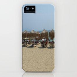 Beach in Greece iPhone Case