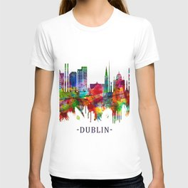 Dublin Republic of Ireland Skyline T-shirt