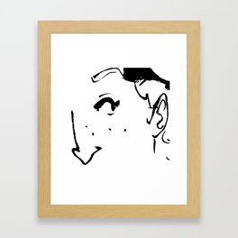 Ink eye Framed Art Print