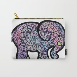 Galaxy Mandala Elephant Art Carry-All Pouch