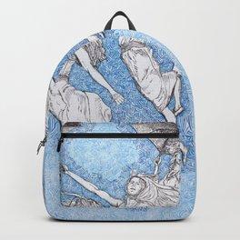 Blue Shift Backpack