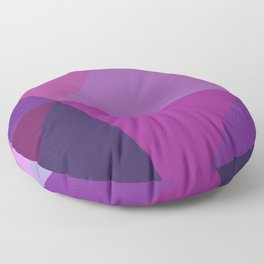 Prismatika Shades of Purple Floor Pillow