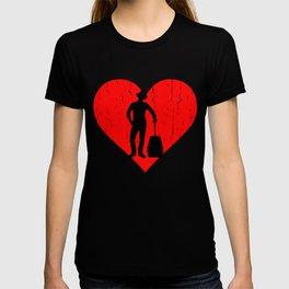 Viajando Heart T-shirt