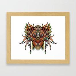 Majestic Lion Framed Art Print