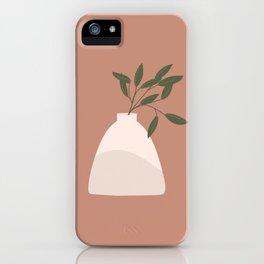 Vase no. 16 Minimalism  iPhone Case