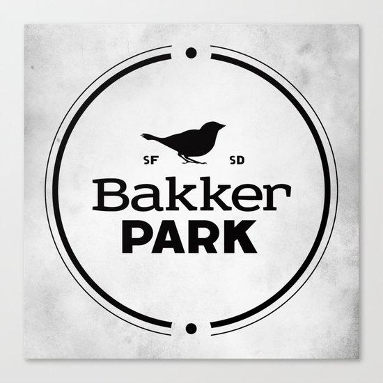 Bakker Park Canvas Print