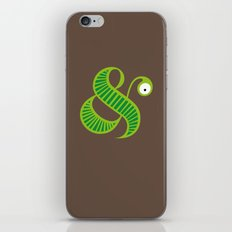Et worm iPhone & iPod Skin