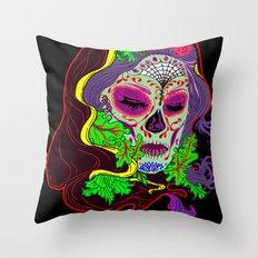 Darlin' Of The Dead Throw Pillow