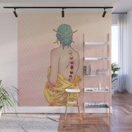 Tsukimi Lady Wall Mural