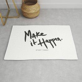 Make It Happen - Start Today Rug