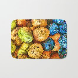 crystallized fruits Bath Mat