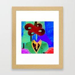 GO YAMA - MOBIUS STRIPS ARTWORK Framed Art Print