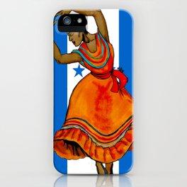 Tu Bandera Es Un Lampo De Cielo iPhone Case