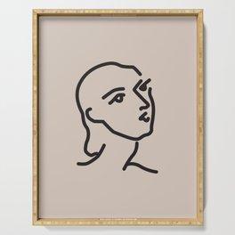 Janey - Henri Matisse - Lithograph - Vintage Art Print - Digital Download - Printable Matisse Print Serving Tray