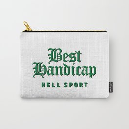 Best Handicap - Hell Sport - Green Carry-All Pouch