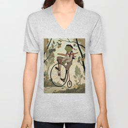 Morning Ride Unisex V-Neck
