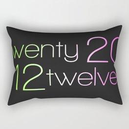 twentytwelve 2012 Rectangular Pillow