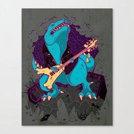 T-Rox Canvas Print