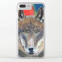 Happy Lupus Clear iPhone Case