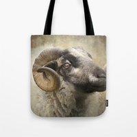 ram Tote Bags featuring Ram by Pauline Fowler ( Polly470 )