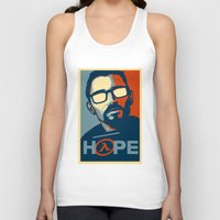 half life Tank Tops featuring Half Life Hope by The Strynx