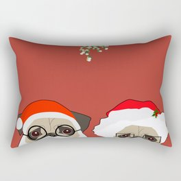 Mr And Mrs Claus Rectangular Pillow