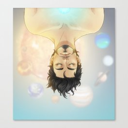 SPACE CHILD Canvas Print