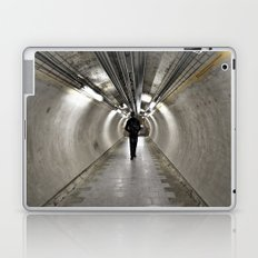 IN A LONDON UNDERGROUND TUNNEL Laptop & iPad Skin
