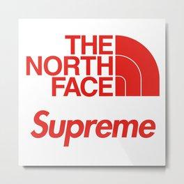 Supreme x The North Face Metal Print