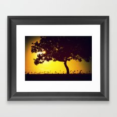 Exit 22 Framed Art Print