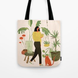 Migrating a Plant Tote Bag