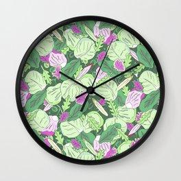 Lettuce Jungle Wall Clock