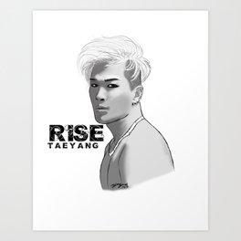 Taeyang RISE Art Print