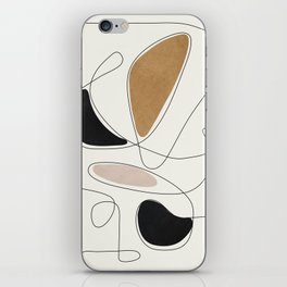 Thin Flow III iPhone Skin