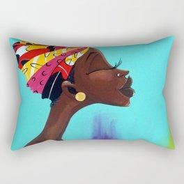 The Fruitful Woman Rectangular Pillow