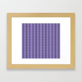 Bejewelled Amethyst Framed Art Print