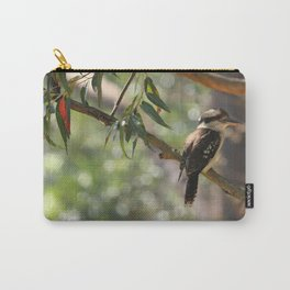 Kookaburra sitting in a gum tree Carry-All Pouch