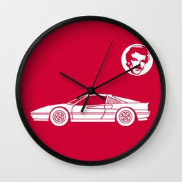 Ferrari 328 GTS Wall Clock