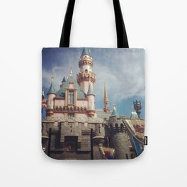 Sleeping Beauty's Castle Tote Bag