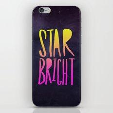 Star Bright iPhone & iPod Skin