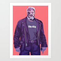 90s Art Prints featuring 80/90s - Hdr by Mike Wrobel