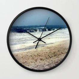 Sea Foam #3 Wall Clock